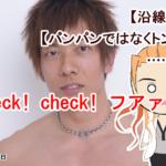 ガウ「check! check! フアァッ!」